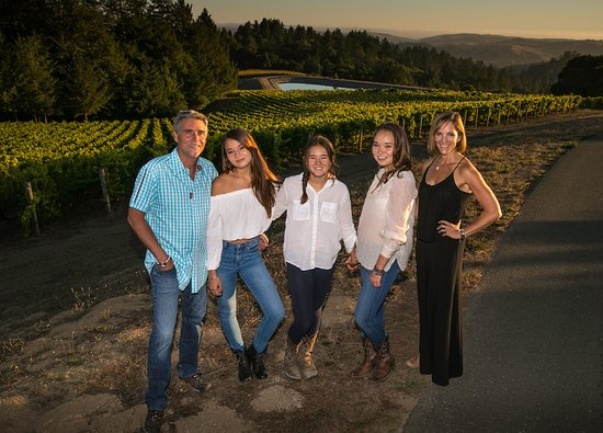 Healdsburg, Kalifornien: The Flanagan family