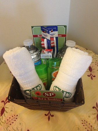 North Bay, Canada: Welcome Basket