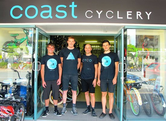 ‪Coast Cyclery‬