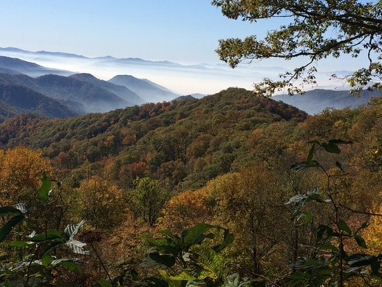 Cosby, TN : Smoky Mountains in October