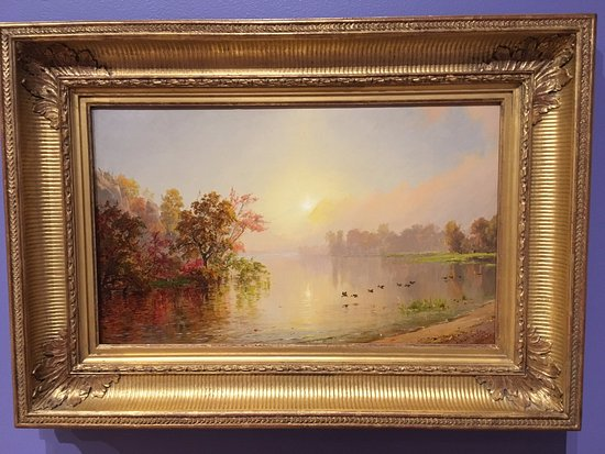 Wausau, WI: The light you see in this painting is not from a flash reflection...it comes from within!