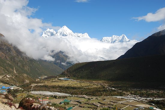 Thami, Nepal: View from the hotel