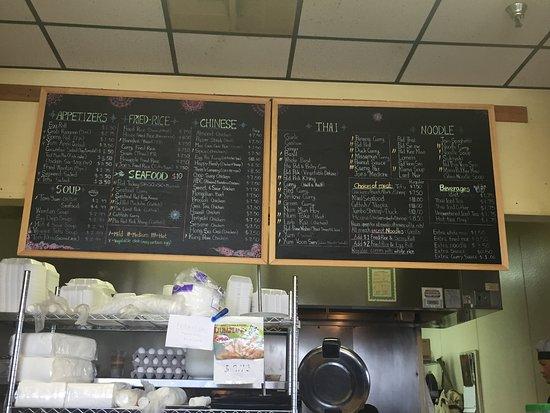 Jo Wok: menu