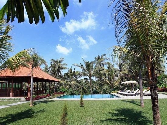 Pertiwi Bisma 2: view from garden villa