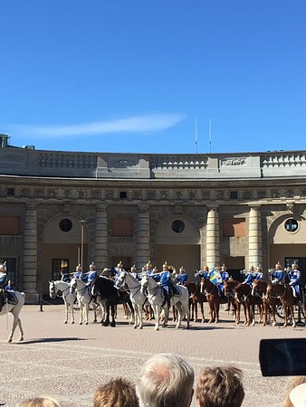 Stockholmer Schloss (Kungliga Slottet): Changing of the guard