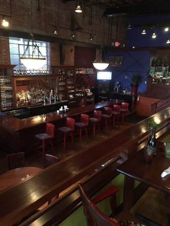 Madison, GA: Bar downstairs