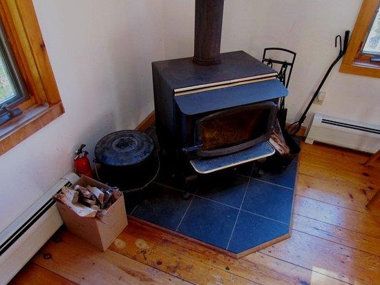Newfane, VT: Wood stove