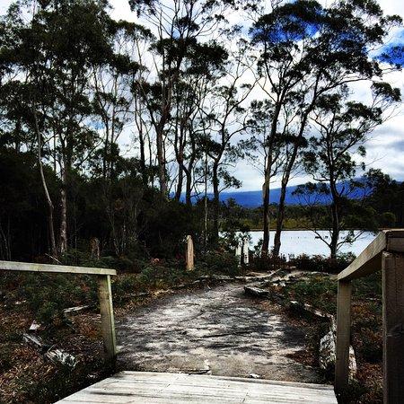 Tasmanien, Australien: The view of covict gravestones