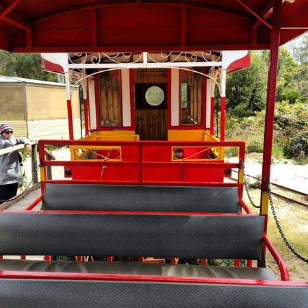 Tasmanien, Australien: The train