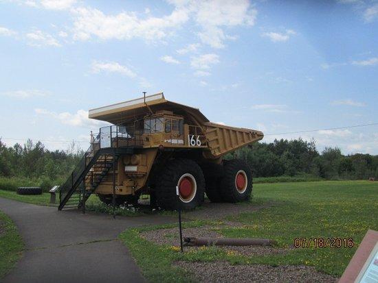 Hibbing, MN: mining tractor