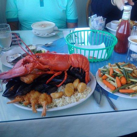 Tignish, Canada: seafood platter