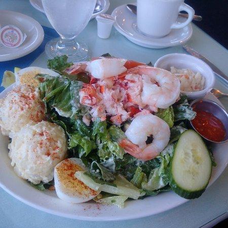 Tignish, Canada: Prawn Caesar Salad