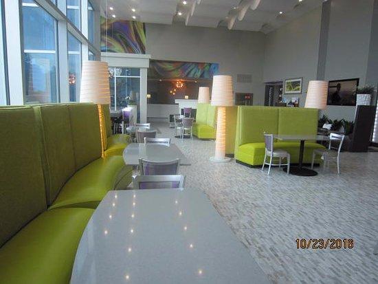 Garland, TX: Breakfast eating area