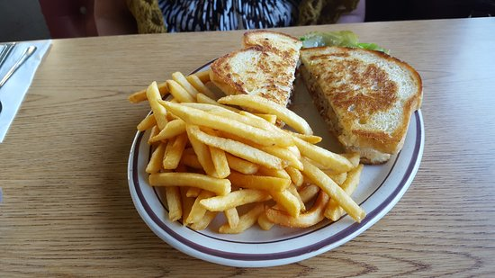 El Cajon, CA: Country Fries Chicken Melt Sandwich