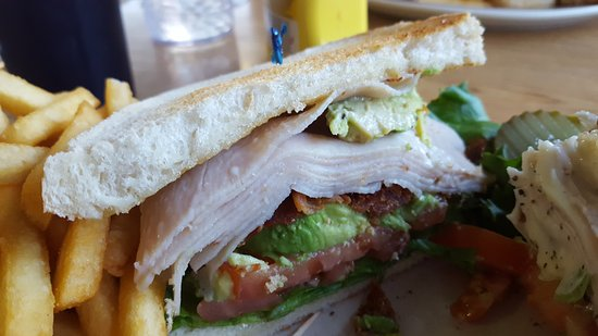 El Cajon, CA: Bacon, Turkey, Avocado Sandwich