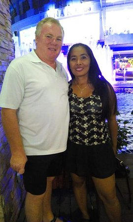 owners of patong bay guesthouse trevor and narin