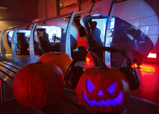 Slough, UK: 🎃 Halloween weekend at Motion Simulation Room 🎃