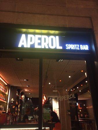 Main Entrance Picture Of Terrazza Aperol Spritz Barcelona