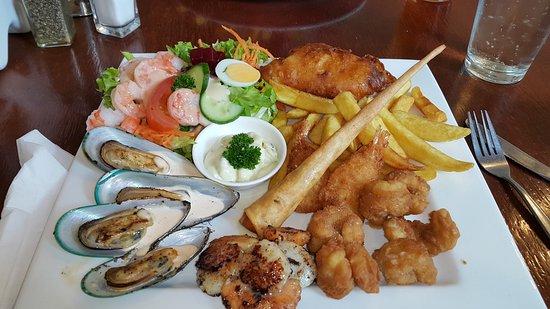 Whanganui, Nya Zeeland: Seafood Platter