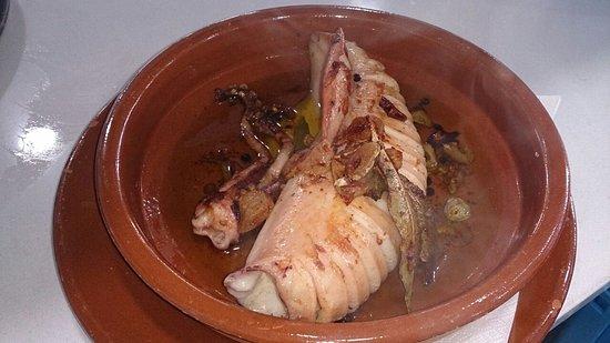 El Ejido, Spania: Calamar en aceite