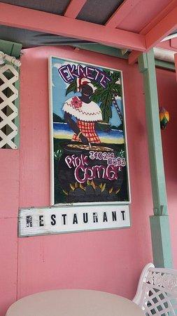 Coral Bay, St. John: Ekaete Pink Corner