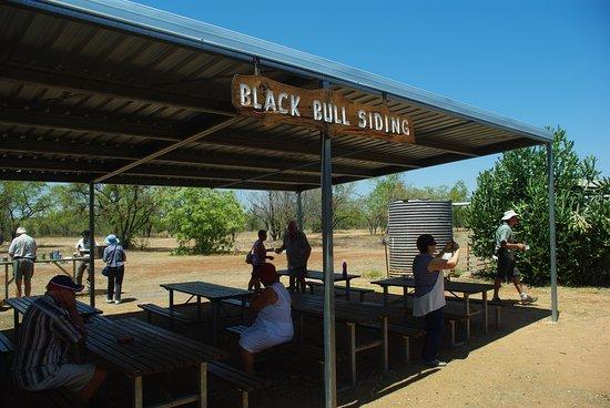 Normanton, Australien: Refreshment stop