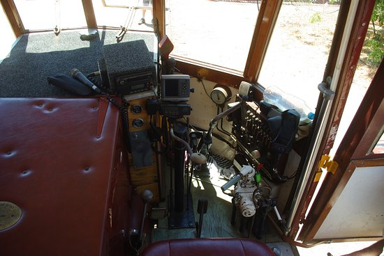 Normanton, Australia: Railmotor controls