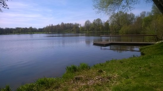 Bremervorde, Germany: Stille am See.