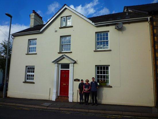 Crickhowell, UK: the house