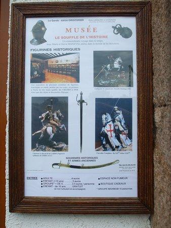 Droiturier, فرنسا: musée de la figurine d'art