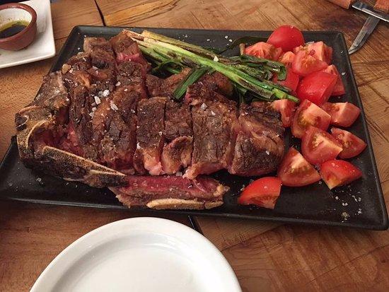 Ramsbottom, UK: The Sunday sharing steak