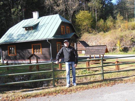 Liptovsky Mikulas, Eslovaquia: Jeden z domov, ktoré boli v osade obývané - po rekonštrukcii