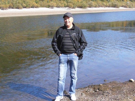 Liptovsky Mikulas, Eslovaquia: Na brehu dolnej nádrže Čierny Váh