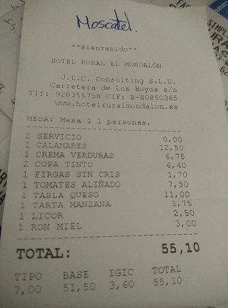 Marzagan, Ισπανία: Hotel Rural El Mondalon
