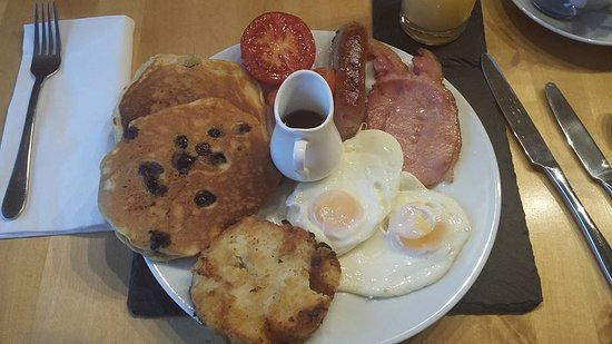 Lydbrook, UK: Lumberjack breakfast