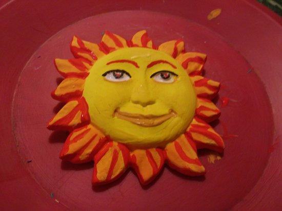 Sun Museum: Gipssonnen gestalten