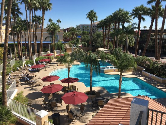 Pool From 3rd Floor Balcony Picture Of Crowne Plaza Phoenix