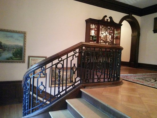 Mercersburg, PA: Lovely ornate railing