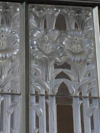 St. Lawrence, UK: part of a screen