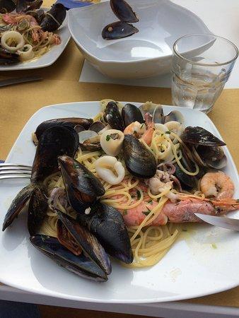 Scandicci, Włochy: Spaghetti allo scoglio