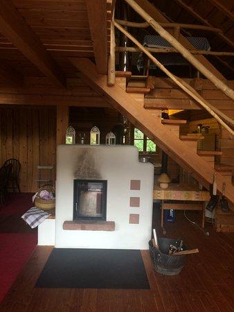 Schenkenzell, Tyskland: Treppe zum oberen Stockwerk
