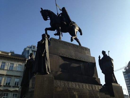 St. Wenceslas Statue