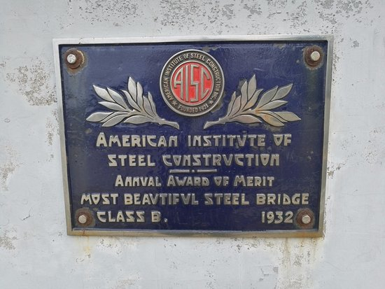 Erving, MA: Plaque for bridge
