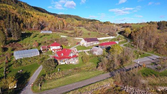 Saint-Fulgence, Καναδάς: Une ferme authentique!