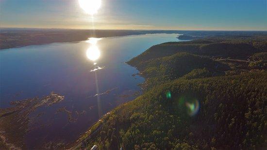 Saint-Fulgence, Καναδάς: Notre environnement nature et nos couchers de soleil!