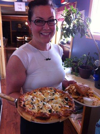 Nick's Place: Pizza was soooooo delicious. - thanks Kim!