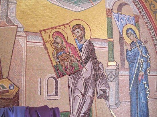 Pedoulas, ไซปรัส: Монастырь Киккской иконы Божией Матери.