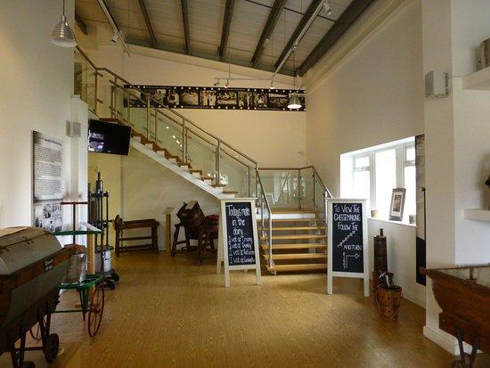 Garstang, UK: Entrance to viewing Gallery.