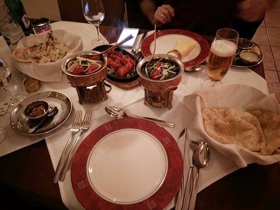 Taj Mahal : our meal