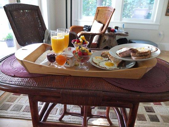 Nelson, Canadá: Het ontbijt
